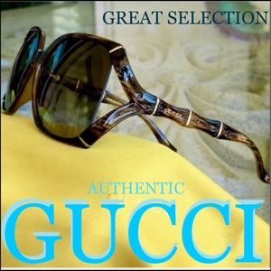 GUCCI BAMBOO COLLECTION horn 58mm sunglasses